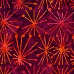 Batiks BT6080 Jewel Atomic by Michael Miller