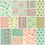 Bumble 15 Fat Quarter Set by Tula Pink for Free Spirit