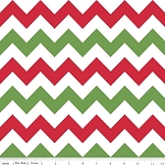 Chevron Medium C320-07 Christmas by Riley Blake