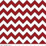 Chevron Medium C320-85 Crimson by Riley Blake