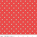 Vintage Verona C3605 Coral Dots by Emily Taylor for Riley Blake