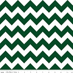 Chevron Medium C380-35 Hunter Green by Riley Blake