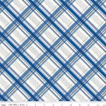 British Invasion C3845 Blue Plaid by Riley Blake