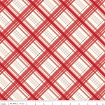 British Invasion C3845 Red Plaid by Riley Blake