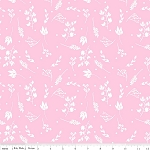 Floriography C3944 Pink Branches by Pink Fig for Riley Blake