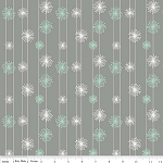 Good Natured C4084 Gray Dandelion by Marin Sutton for Riley Blake