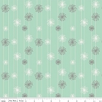 Good Natured C4084 Mint Dandelion by Marin Sutton for Riley Blake