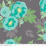 The Cottage Garden C4220 Gray Main by Riley Blake