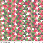 The Cottage Garden C4225 Pink Triangles by Riley Blake
