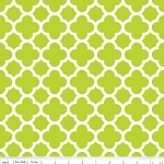 Quatrefoil C435-32 Lime by Riley Blake