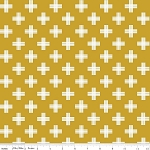 Four Corners C4871 Gold Weave by Simple Simon for Riley Blake