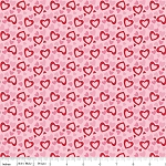 Holiday Banners C561 Multi Hearts by Riley Blake