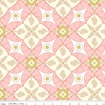 Calliope C3201 Pink Scroll by Stitch Studios for Riley Blake