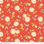 Calliope C3202 Coral Small Floral by Stitch Studios for Riley Blake EOB