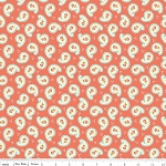 Calliope C3203 Coral Paisley by Stitch Studios for Riley Blake EOB