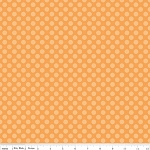 Calliope C3204 Orange Dot by Stitch Studios for Riley Blake EOB