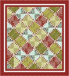 Candy Stripes Quilt Pattern by Coach House Designs
