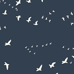 Flight Organic Canvas BDG-03 Dusk by Jay-Cyn Designs for Birch