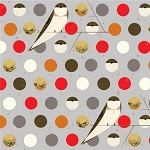 Charley Harper Organic CH-07 Fall Bank Swallow by Birch