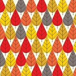 Charley Harper Organic CH-06 Fall Octoberama by Birch