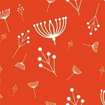 Charley Harper Organic KNIT K-CH-11 Tomato Twigs by Birch