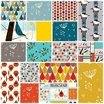 Charley Harper Organic 17 Fat Quarter Set by Birch