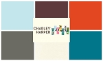 Charley Harper Organic Solids 6 Fat Quarter Set by Birch