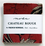 Chateau Rouge MINI Charm Pack by French General for Moda