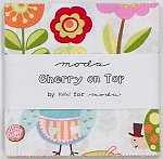 Cherry on Top Charm Pack by Keiki for Moda