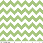 Chevron Medium C320-30 Green by Riley Blake