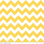 Chevron Medium C320-50 Yellow by Riley Blake EOB