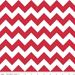 Chevron Medium C320-80 Red by Riley Blake