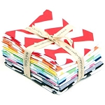 Medium Chevron 10 Fat Quarter Bundle by Riley Blake