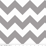Chevron Large C330-40 Gray by Riley Blake