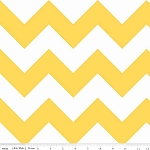 Chevron Large C330-50 Yellow by Riley Blake