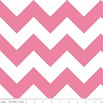 Chevron Large C330-70 Hot Pink by Riley Blake EOB