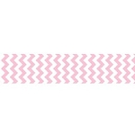 "Chevron Grosgrain Ribbon 7/8"" Baby Pink by Riley Blake"