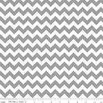 Chevron Small C340-40 Gray by Riley Blake