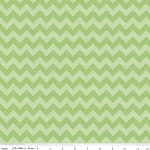 Chevron Small C400-31 Green Tonal by Riley Blake