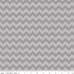 Chevron Small C400-41 Gray Tonal by Riley Blake EOB