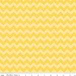 Chevron Small C400-51 Yellow Tonal by Riley Blake