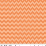 Chevron Small C400-61 Orange Tonal by Riley Blake EOB