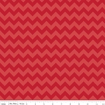 Chevron Small C400-81 Red Tonal by Riley Blake