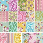 Circa 19 Fat Quarter Set by Jennifer Paganelli for Free Spirit