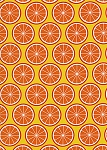 Fruit a la Carte C383 Citrus Oranges by Timeless Treasures