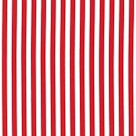 Clown Stripe CX3584 Red by Michael Miller