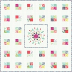 Color Burst Quilt Pattern by Coach House Designs