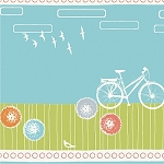 Commute Organic CS-07 ByBike by Birch Fabrics FQ - EOB