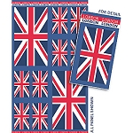 Union Jack DC570 Blue Squares Panel by Riley Blake EOB partial panel