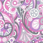 Mod Swirls CX3297 Orchid by Michael Miller